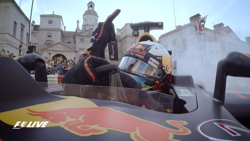 Sightseeing at speed - exclusive onboards from F1 Live London