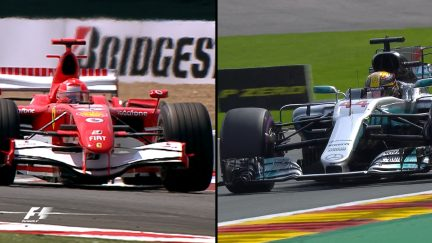 68 poles – Hamilton and Schumacher's routes to the record