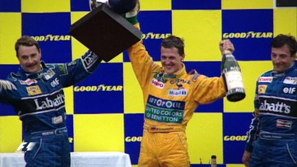 F1 Vault: Schumacher scores memorable debut win in Belgium