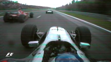 Classic onboard: Hakkinen's epic pass on Schumacher