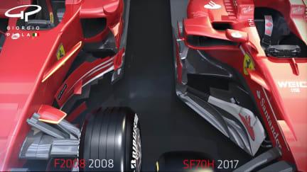 How Ferrari's 2008 title winner inspired 2017 challenger