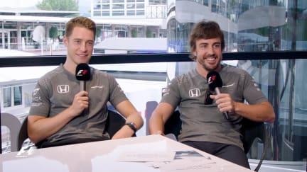 Grill the Grid: McLaren team mates