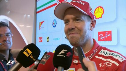 Sebastian Vettel on the importance of testing in Hungary