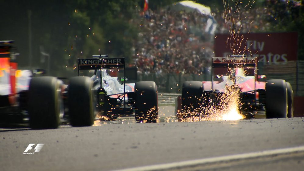 Re-live last year's race in Belgium