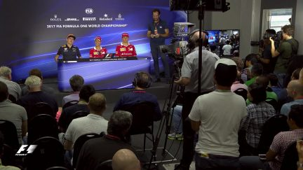 Drivers face the press in Malaysia