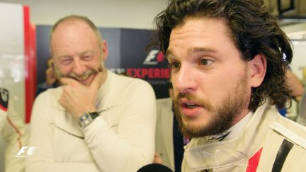 Game of Thrones stars 'slayed' by two-seater F1 Experience
