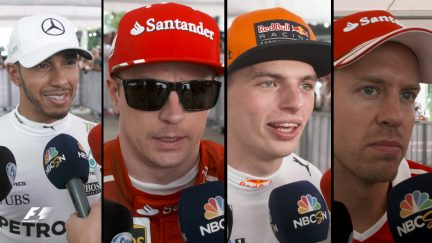 Drivers report back after qualifying in Malaysia