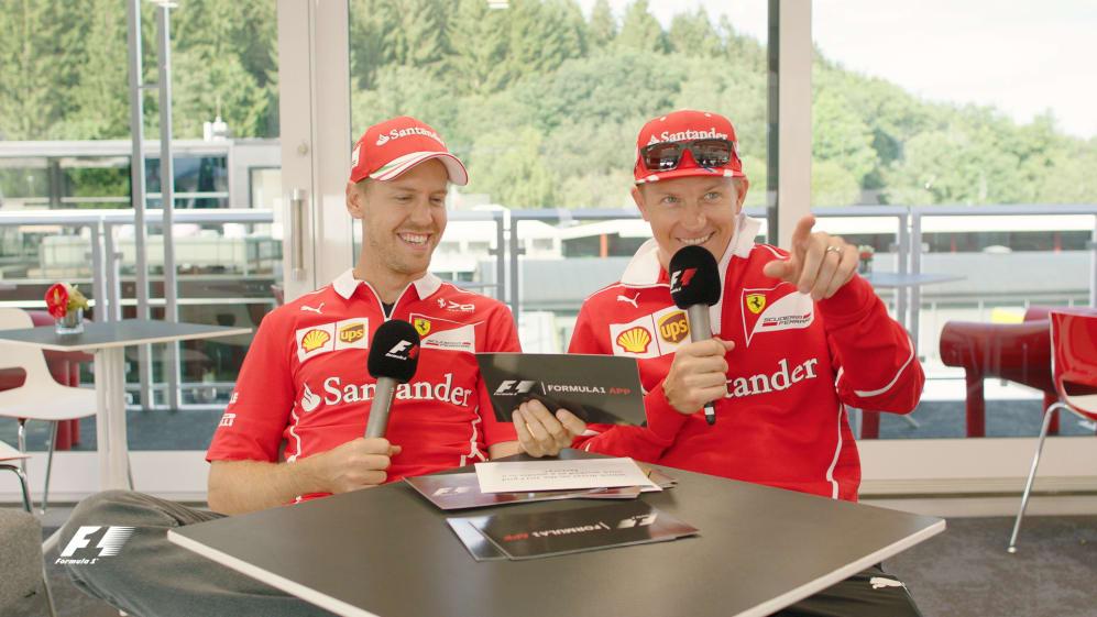 Grill the Grid: Ferrari team mates