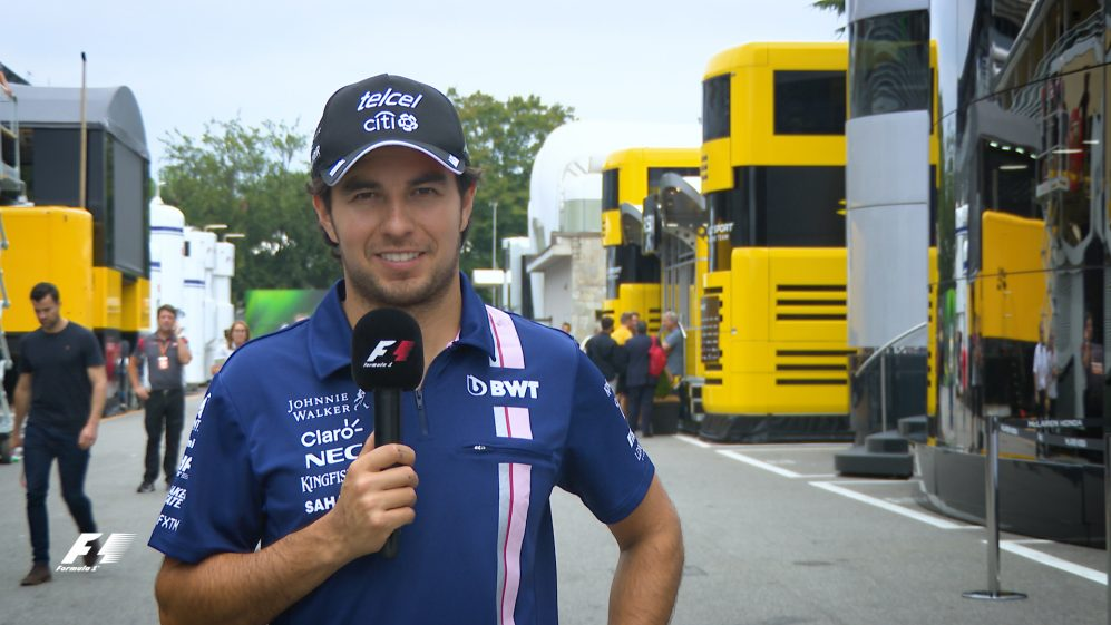 Secrets of Success... Sergio Perez's tips for a hot lap in Italy