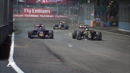 F1 Vault: Verstappen charges back after grid stall