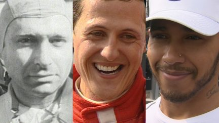 HISTORY MADE: Hamilton becomes third driver to win five F1 titles