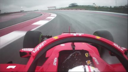 FP1: Vettel fails to slow sufficiently for red flags