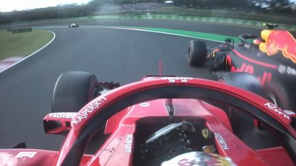 ALL THE ANGLES: Vettel and Verstappen collide in Japan