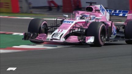 CRANK IT UP: An HQ audio lap with Sergio Perez in Mexico