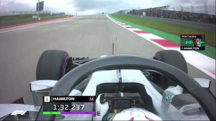 ONBOARD: Lewis Hamilton's US GP pole lap