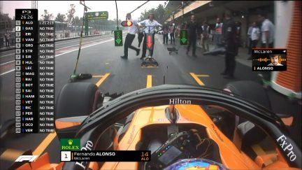 FP3: Alonso goes P1 for McLaren in Mexico