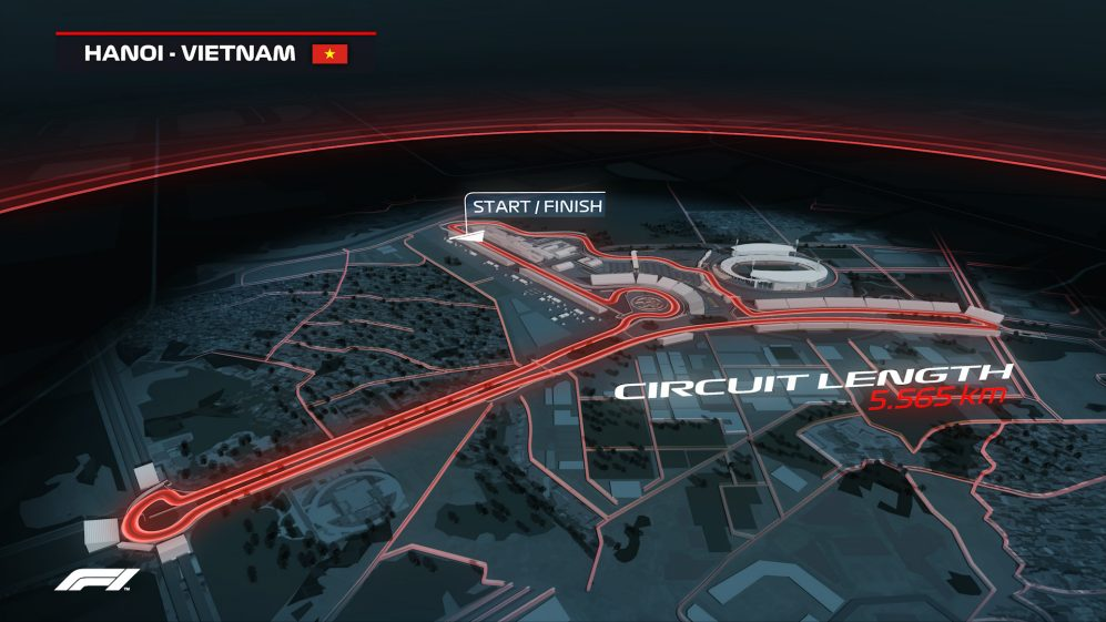 Introducing the Formula 1 Vietnam Grand Prix 2020 Embed