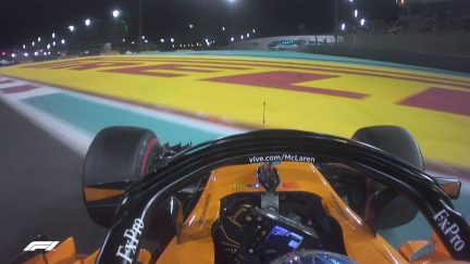 MUST-SEE: Alonso misses Turn 9 apex on consecutive laps