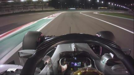 ONBOARD: Lewis Hamilton's Abu Dhabi pole lap