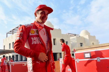 FIRST LOOK: Drivers in new cars and new overalls in Abu Dhabi