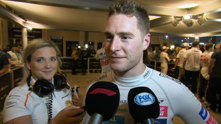 VANDOORNE: I had fun out there today