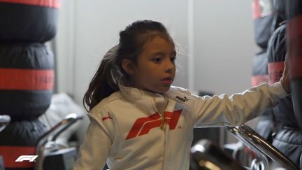FIA F1 Future Stars: Viviana at Haas
