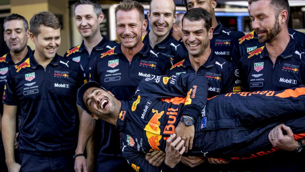 100 RACES: Daniel Ricciardo's Red Bull journey