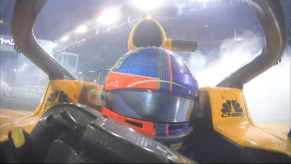 CRANK IT UP: HQ audio of the Abu Dhabi donuts