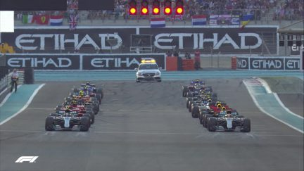 Re-live last year's race in Abu Dhabi