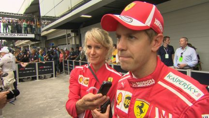 VETTEL: Not a good afternoon