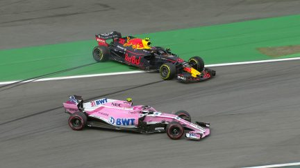 Verstappen and Ocon collide in Brazil