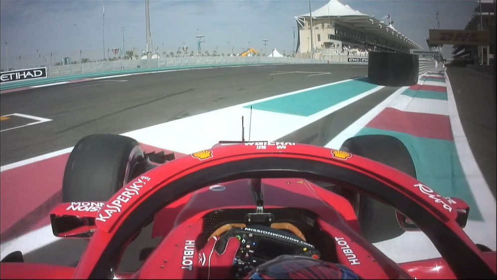 FP3: Pit-lane confusion for Raikkonen after Turn 20 mishap