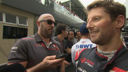 GROSJEAN: Pleased with Haas double-points finish