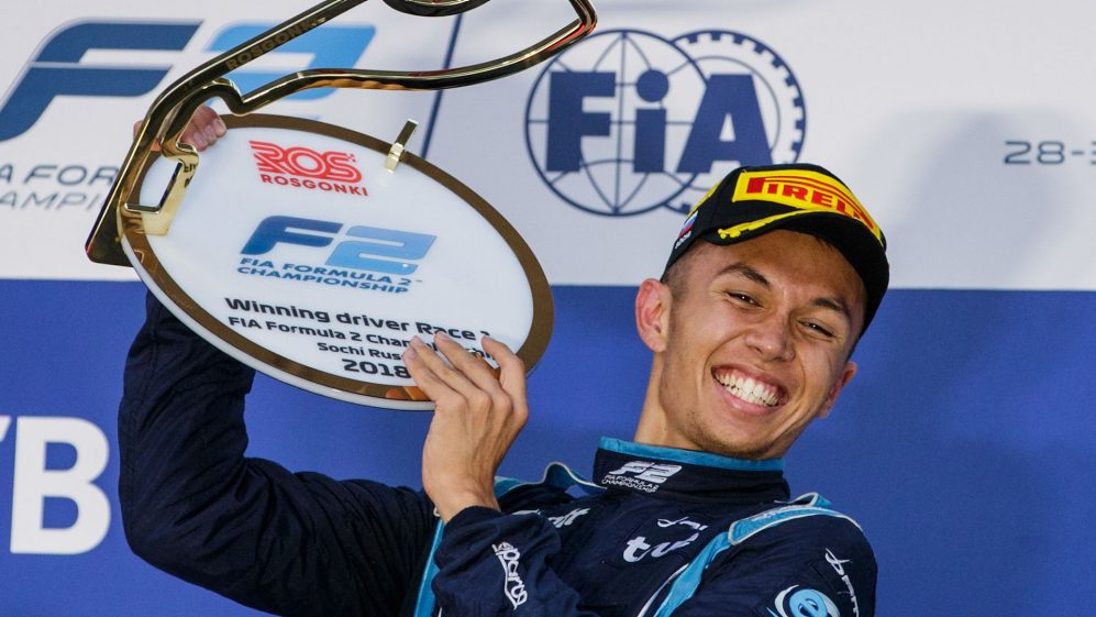 Get to know Alexander Albon