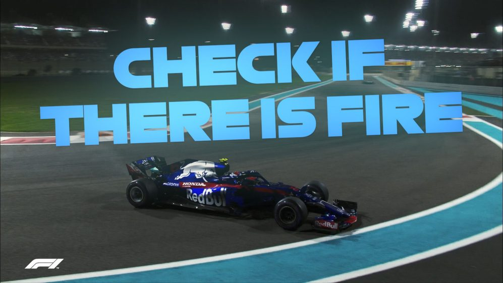 SAY WHAT? The best team radio from Abu Dhabi