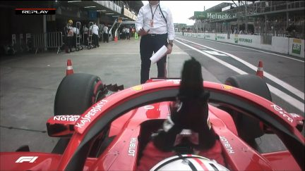 QUALIFYING: Vettel's unhappy weighbridge call