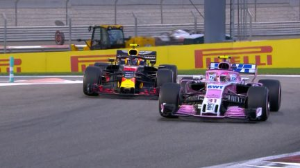 RACE: Verstappen and Ocon renew hostilities in Abu Dhabi