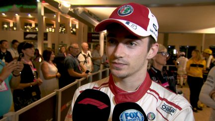 LECLERC: Disappointed not to be best of the rest