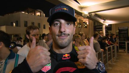 RICCIARDO: I would've loved to have finished on a high