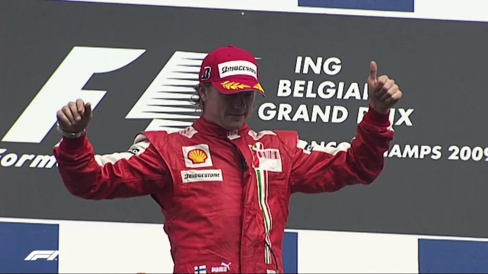 Top 10: Kimi Moments at Ferrari