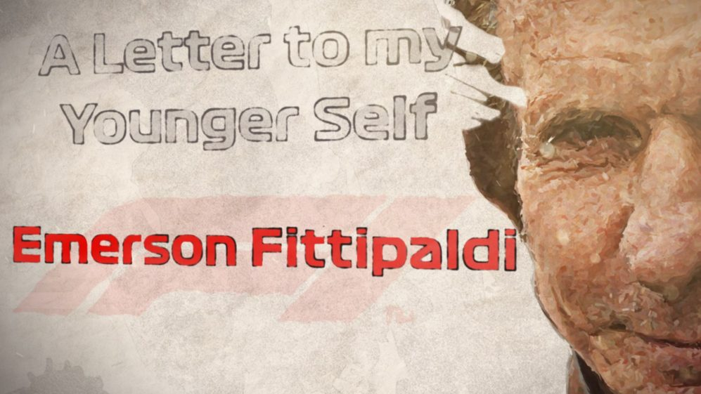 A LETTER TO MY YOUNGER SELF: Emerson Fittipaldi