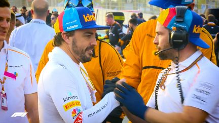 FERNANDO ALONSO: Behind-the-scenes on his final F1 race day