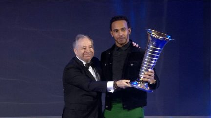 FIA Prize-Giving 2018: Lewis Hamilton awarded 2018 World Championship trophy