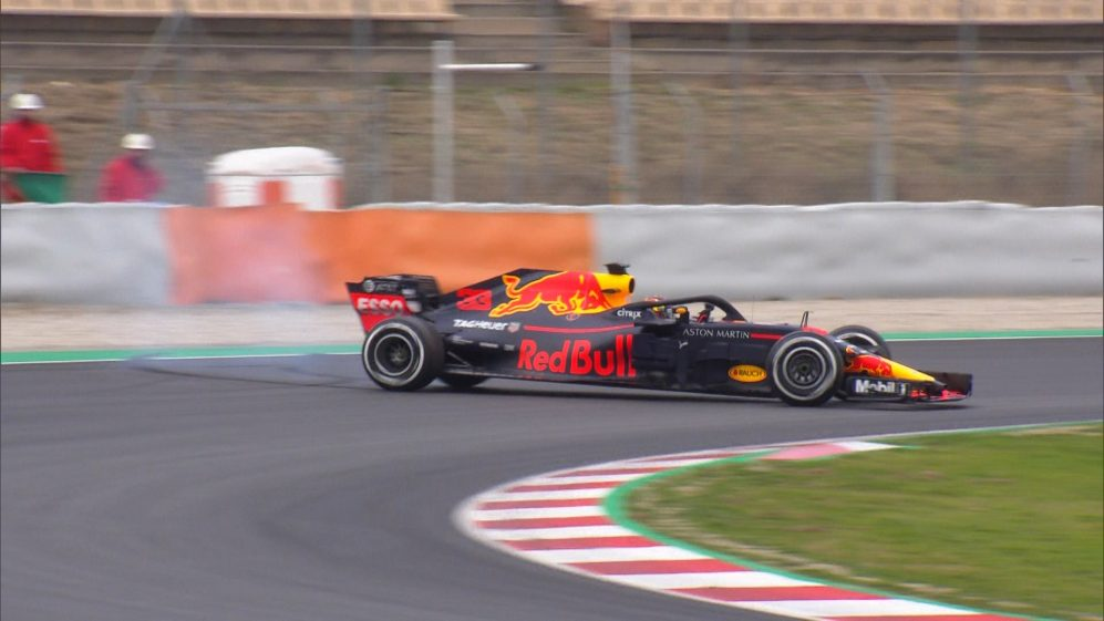 Max Verstappen spins out early on Day 2