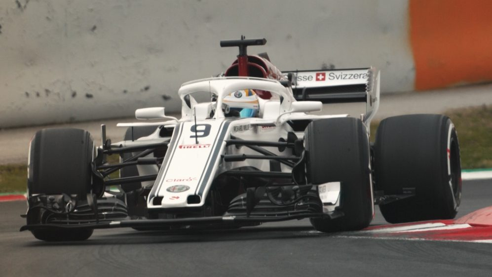 The 2018 F1 grid: every car on track
