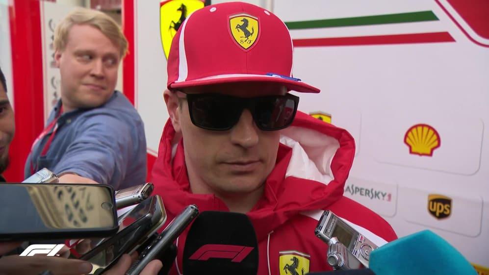 Raikkonen happy with Ferrari reliability