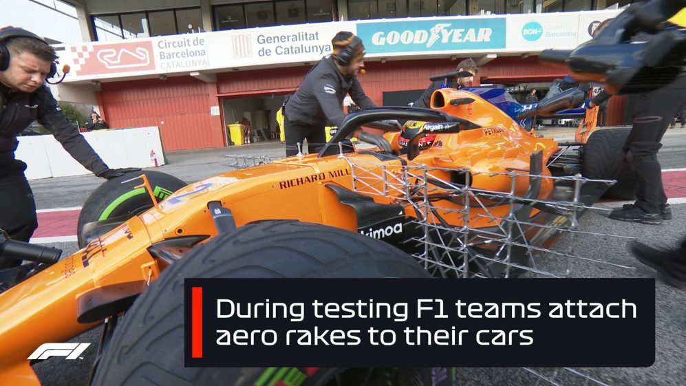 F1 explained: What are aero rakes?