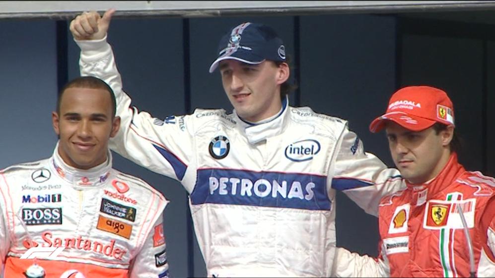 F1 VAULT: Robert Kubica's first pole position