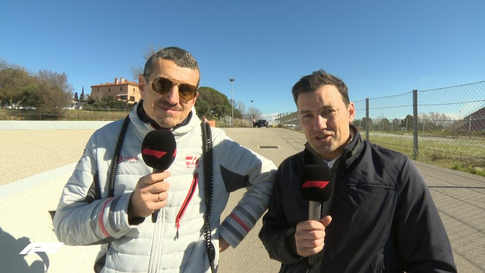 T2 Testing: Trackside live with Guenther Steiner