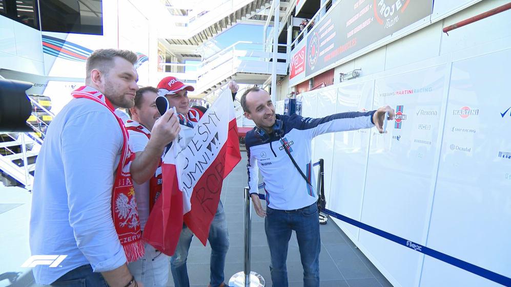Dreams come true: Polish fans meet their hero Kubica